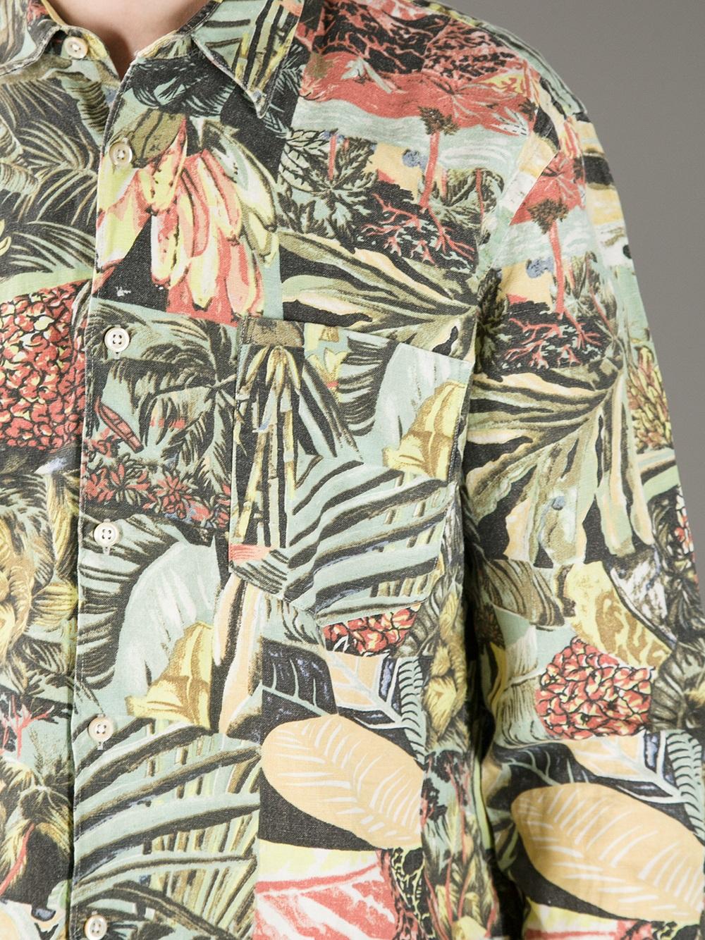 Our Legacy Cotton Amazonas Shirt for Men