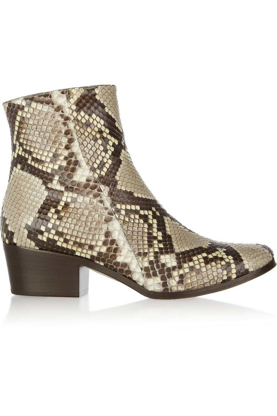 Jimmy Choo Python Pointed-Toe Ankle Boots really cheap online free shipping fashion Style buy cheap Inexpensive supply sale online excellent foHfi