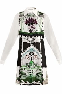 Mary Katrantzou Botanist Shirtdress - Lyst
