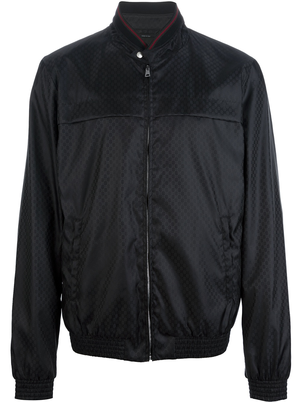 Gucci Zipped Jacket In Black For Men Lyst