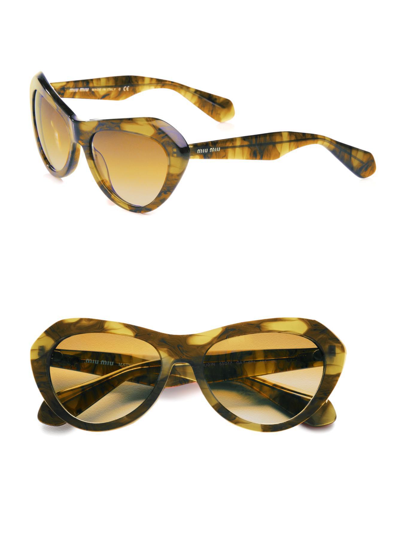 024e7fcf398 Miu Miu Cat Eye Sunglasses Tortoise « Heritage Malta