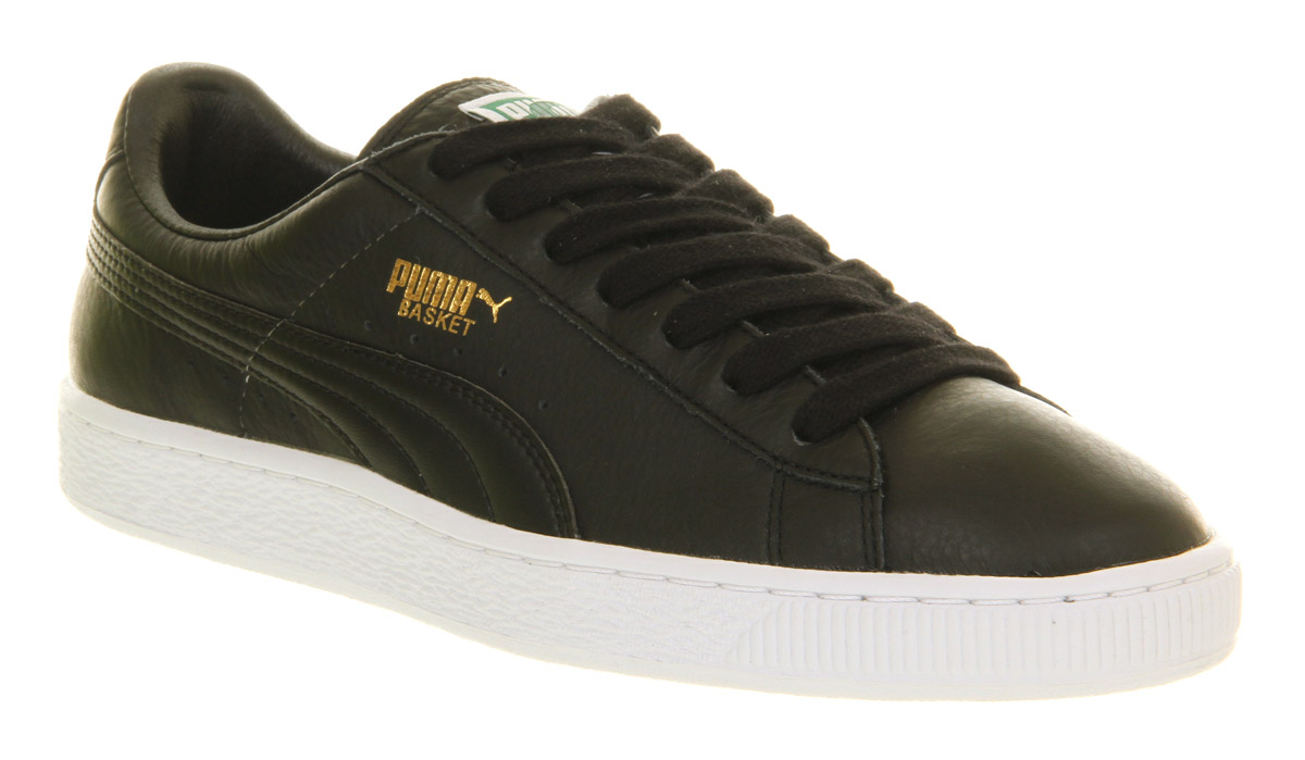 puma suede black leather \u003e Clearance shop