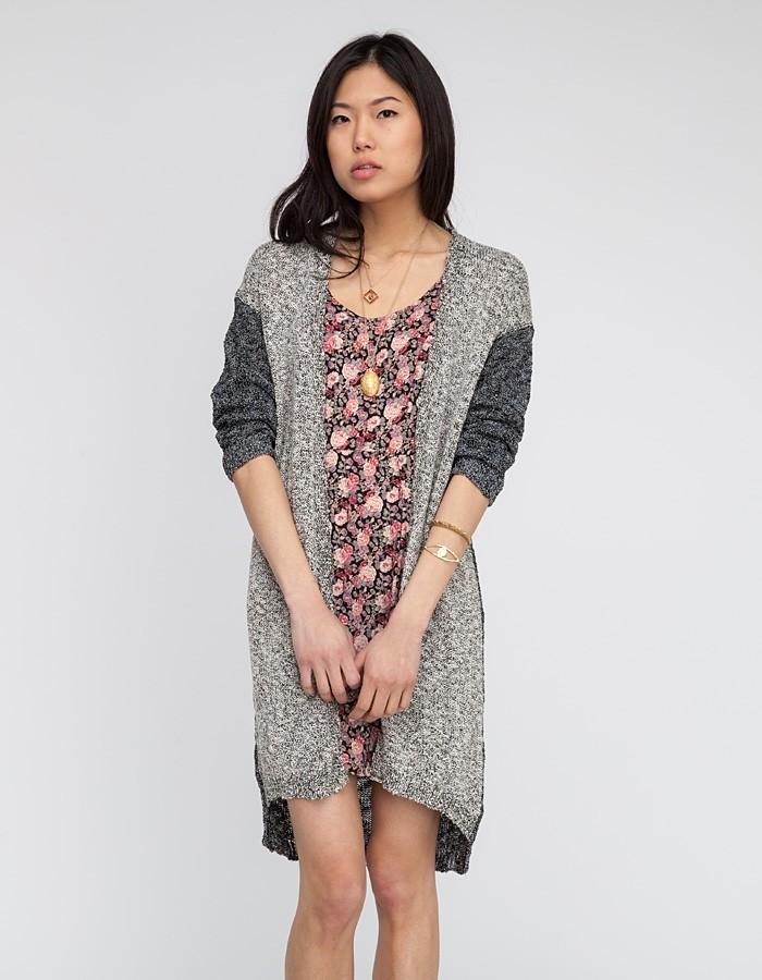 Second female Vera Knit in Gray