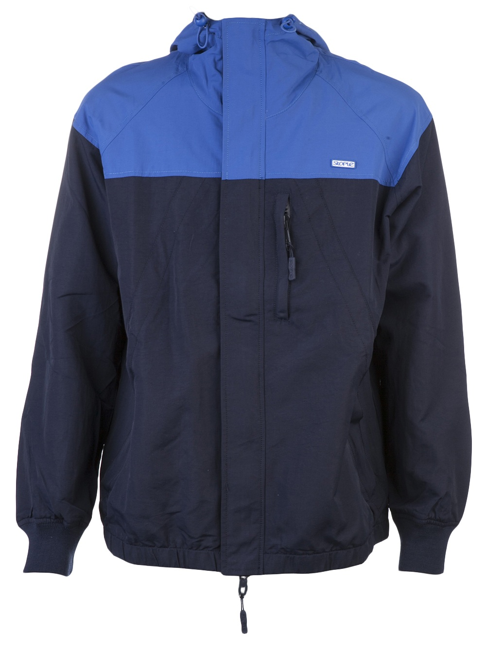 staple ace jacket in blue for lyst