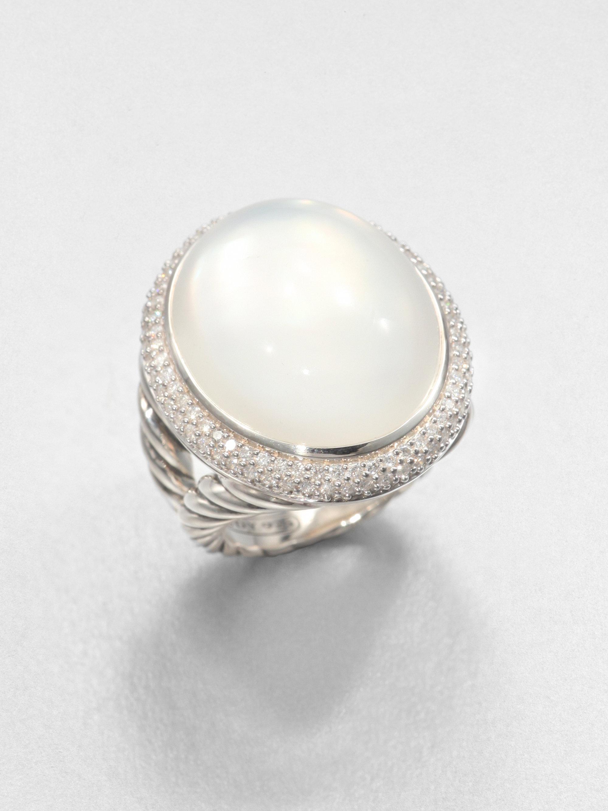 david yurman moonquartz and sterling silver ring