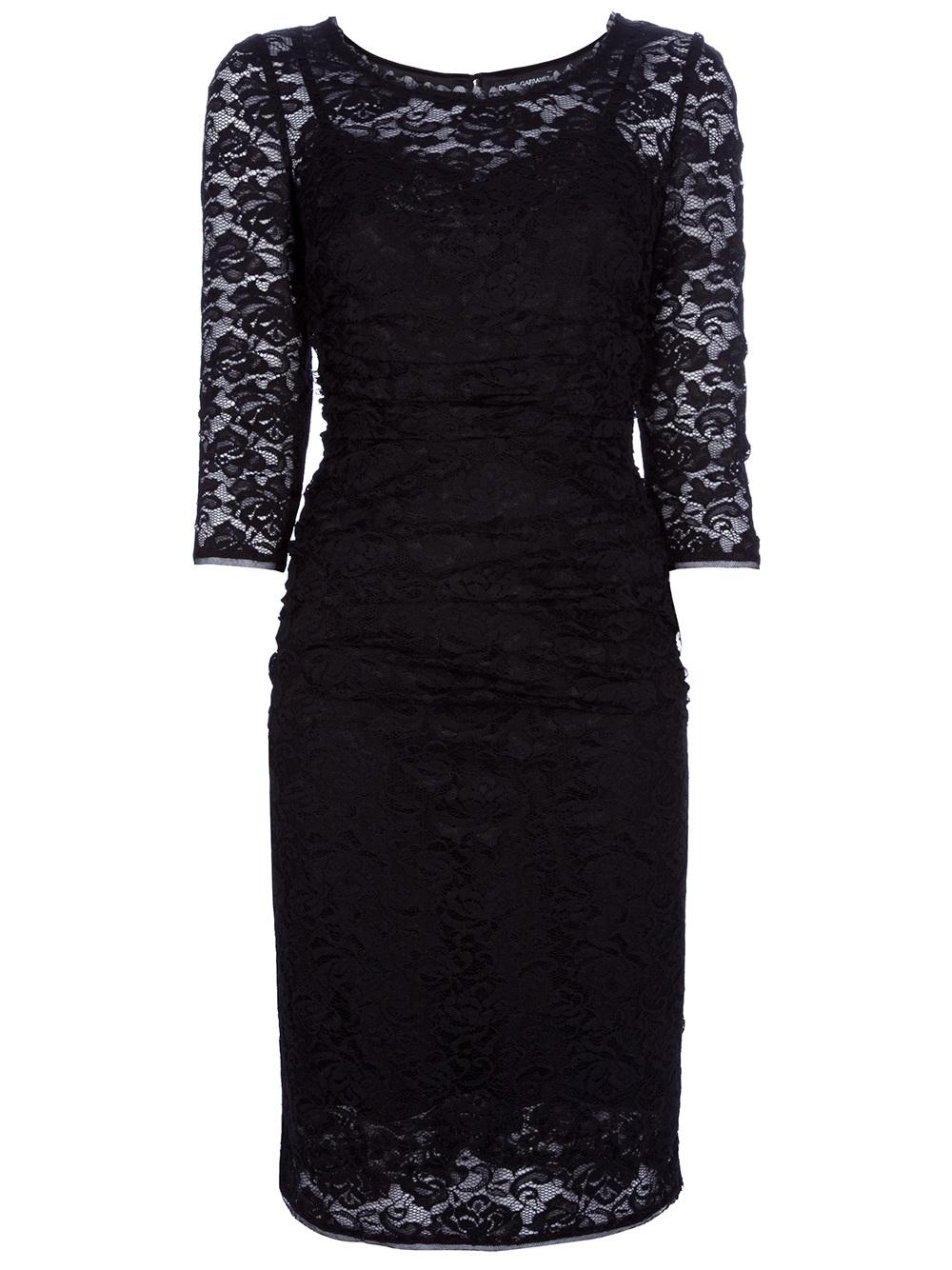 Black Lace Dresses For Women