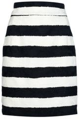 Dolce & Gabbana Striped Skirt