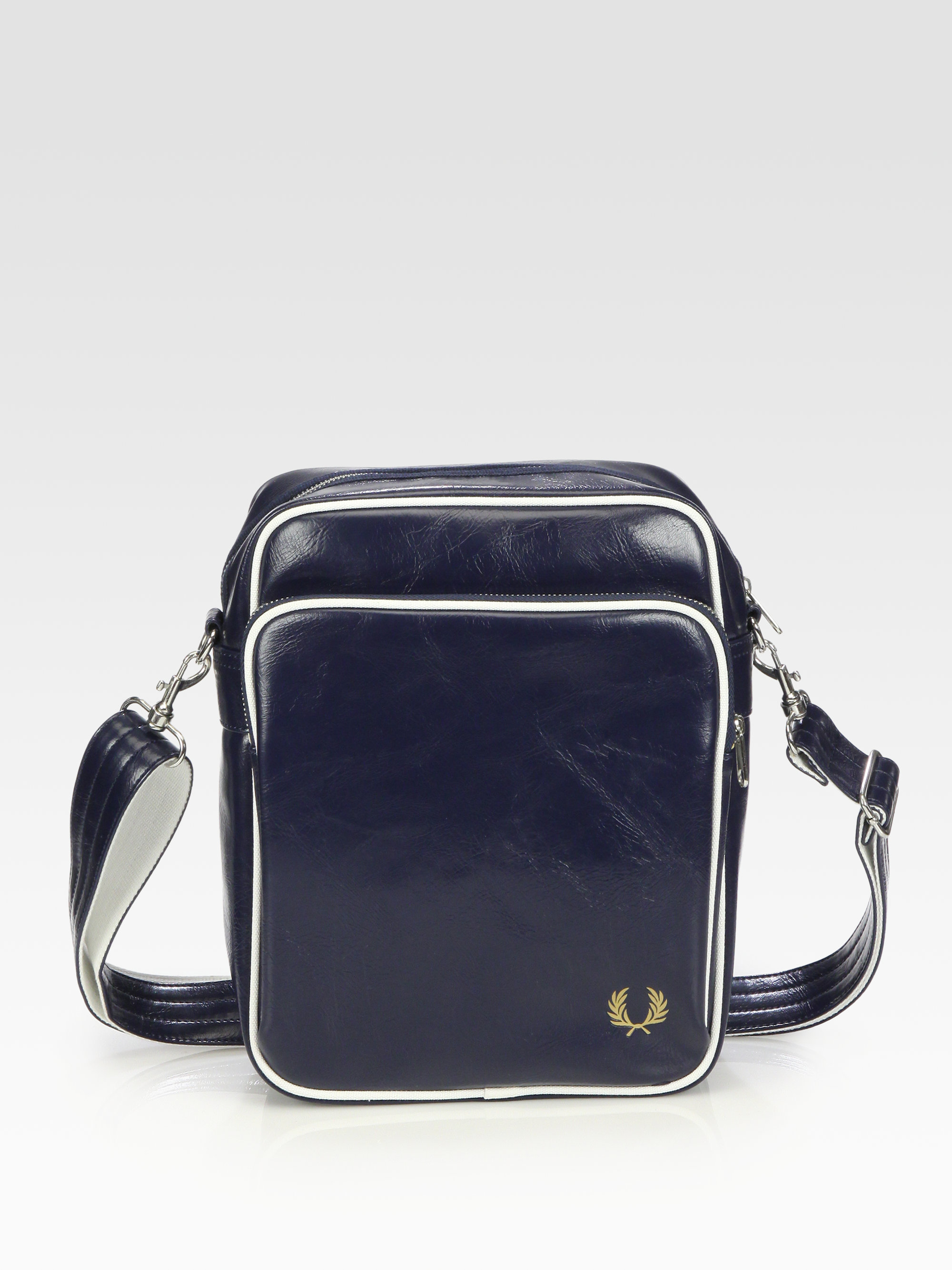 Lyst - Fred Perry Classic Side Bag in Blue for Men b5e67d6c11228