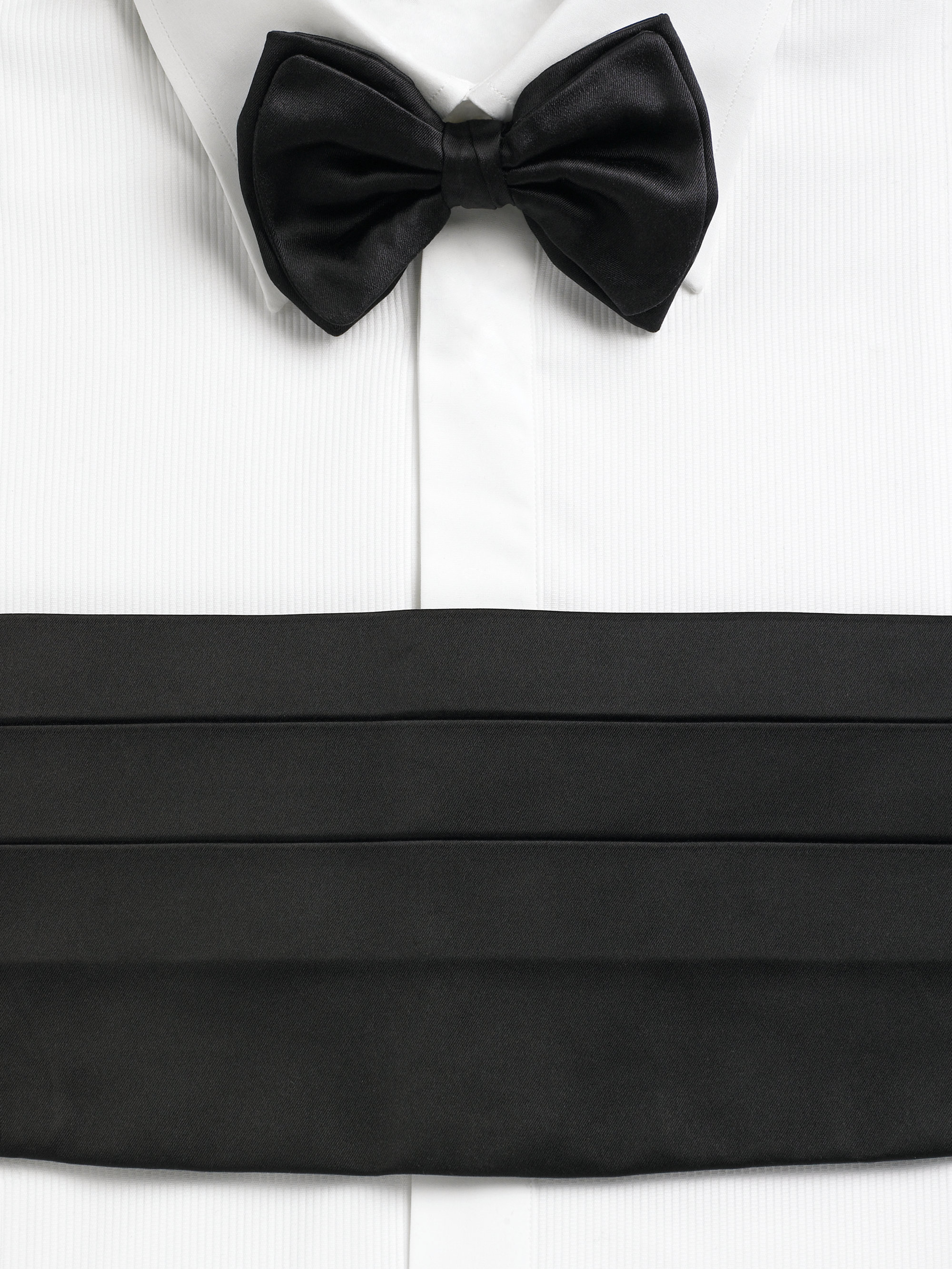 Lyst Giorgio Armani Bow Tie Cummerbund Set In Black For Men