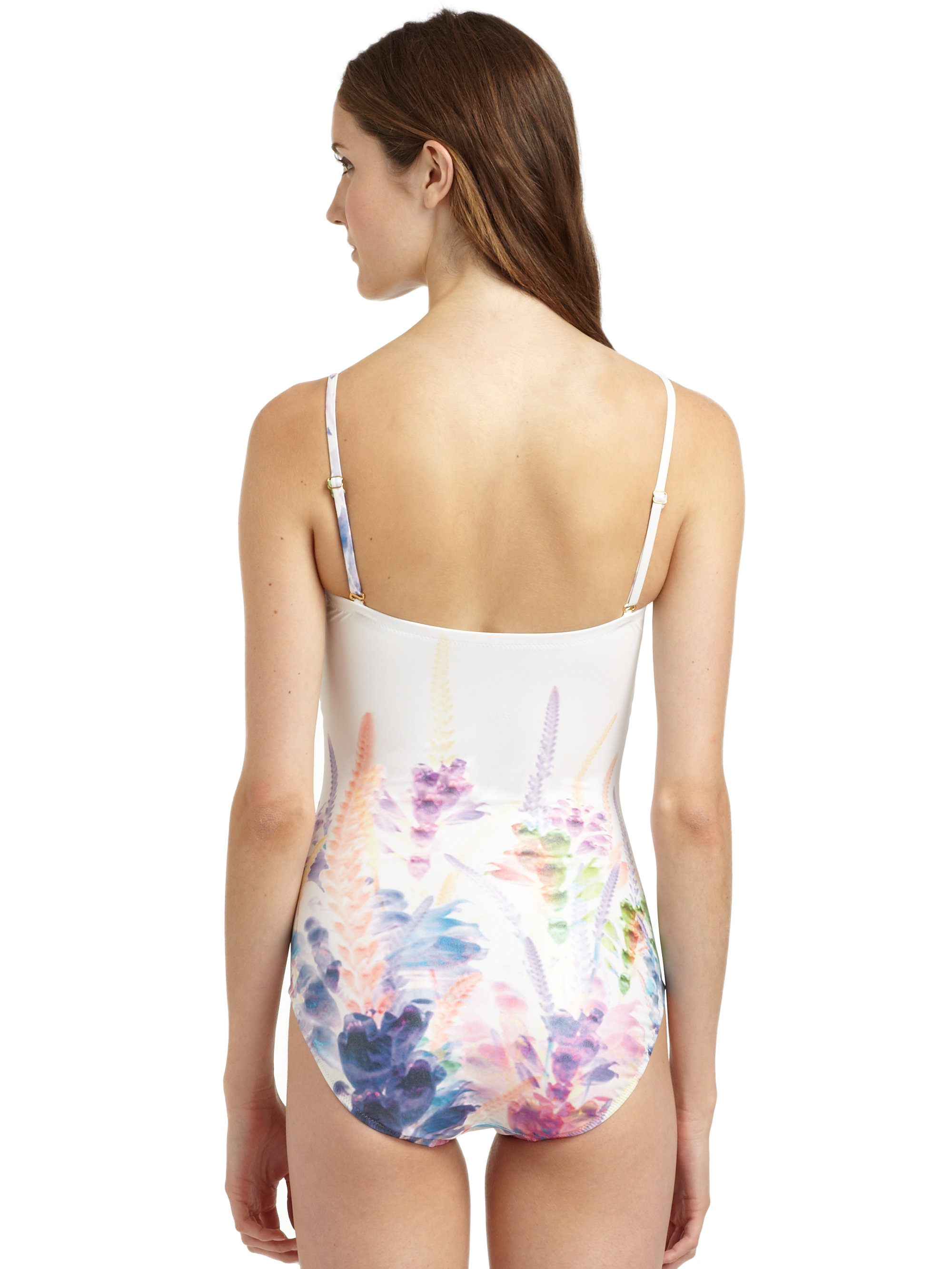ac9fbe124f Lyst - Gottex Floral Onepiece Swimsuit