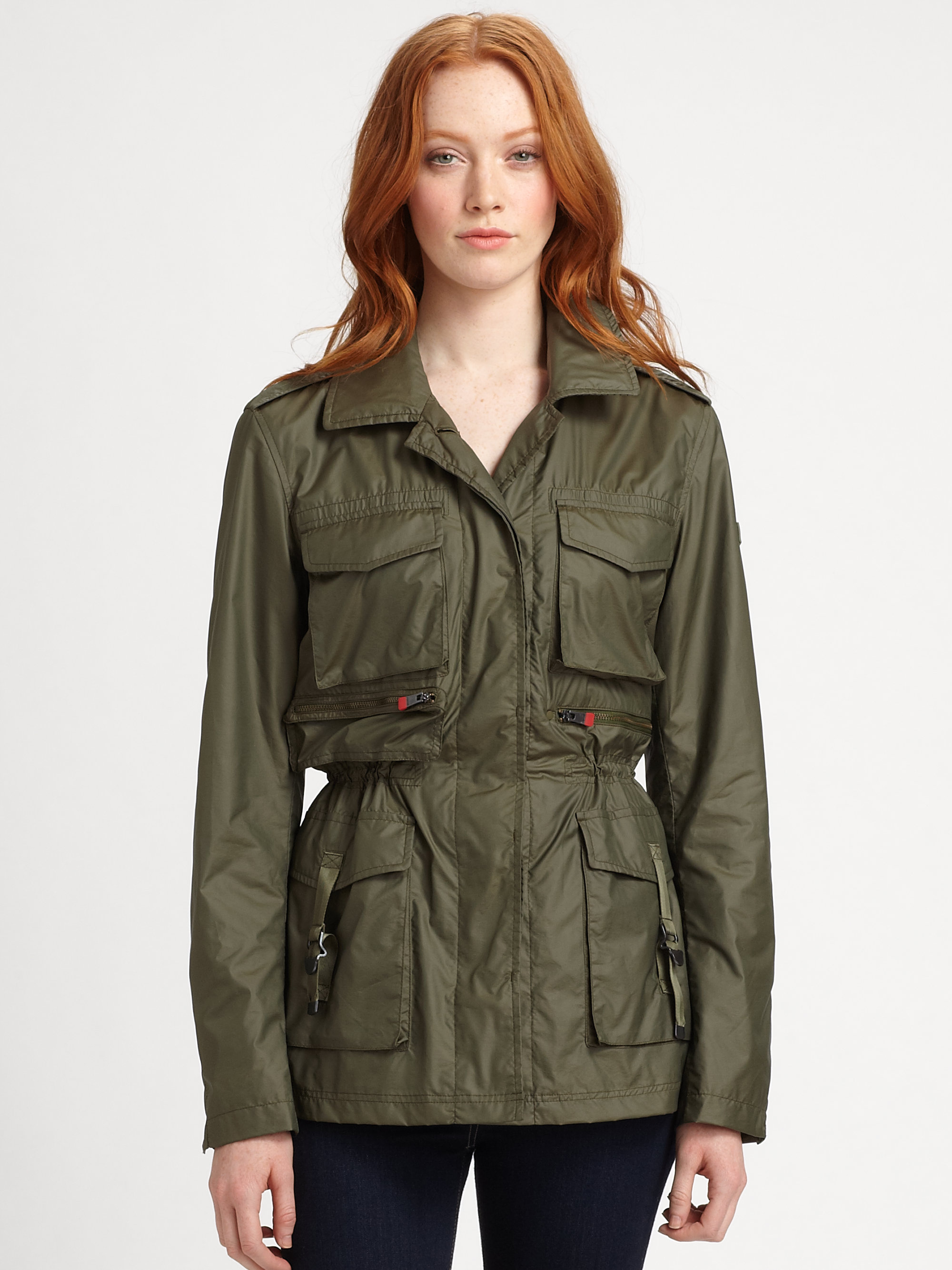 The Heritage Safari Jacket An updated design borrows the best of vintage styling in this women's linen safari jacket.