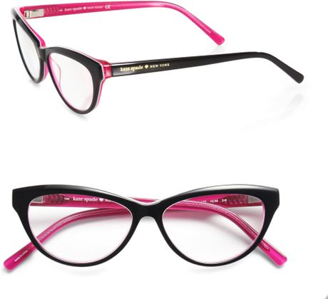 Kate Spade Abena CatS-Eye Reading Glasses in Black Lyst