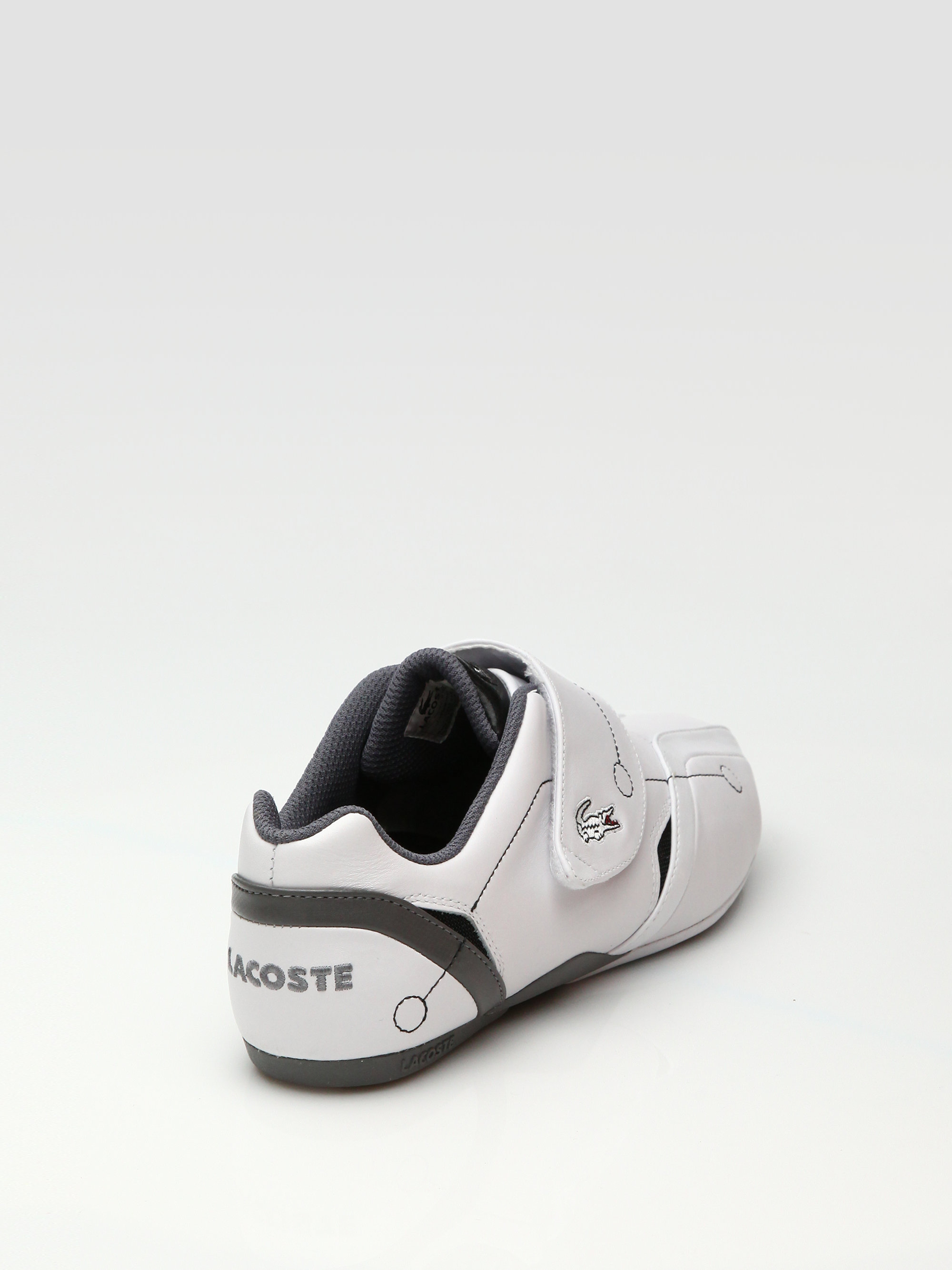 674e0705cef91a Lyst - Lacoste Protect M Leather Sneakers in White for Men