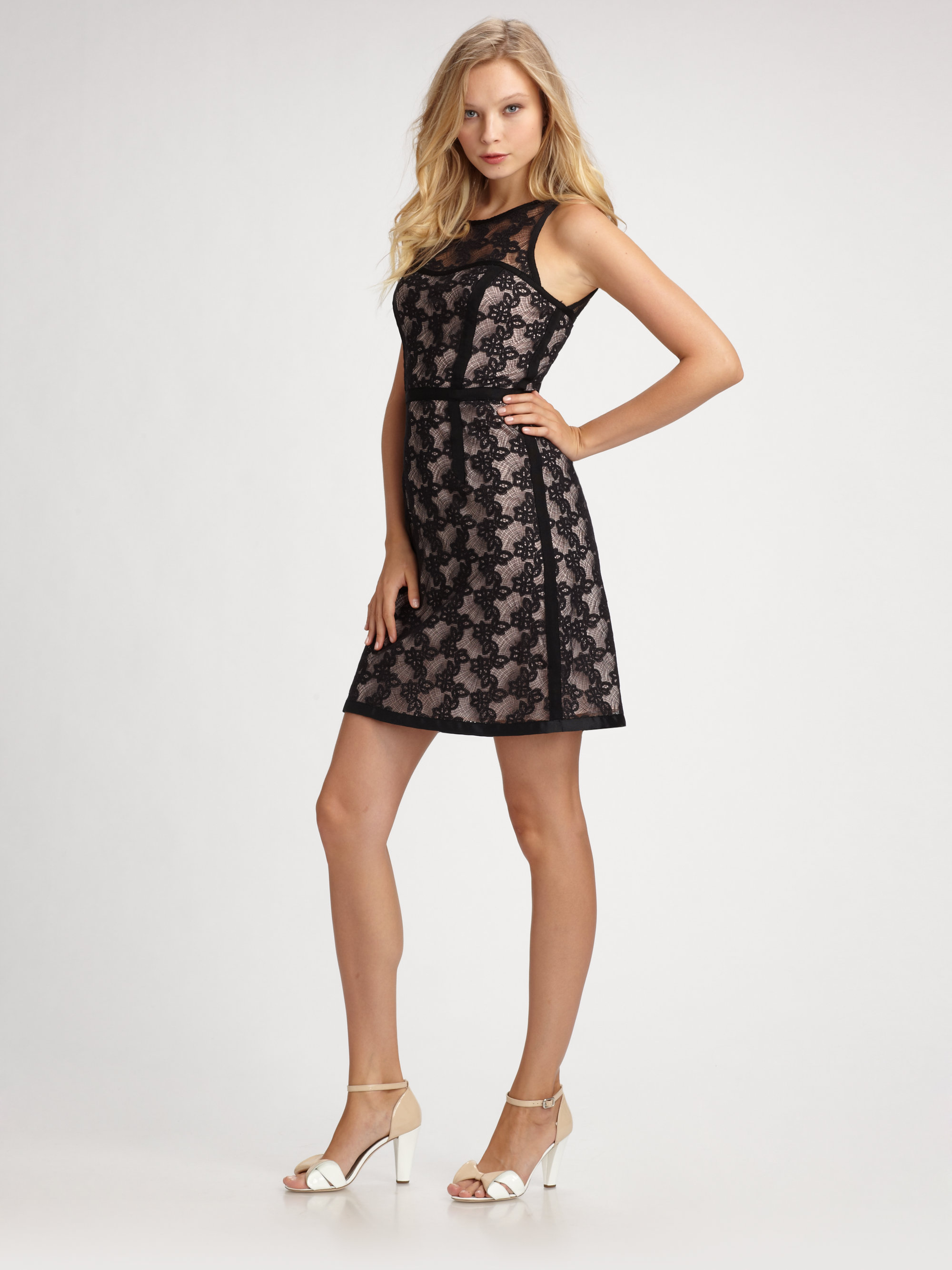 Marc By Marc Jacobs Abigail Lace Dress In Black Lyst