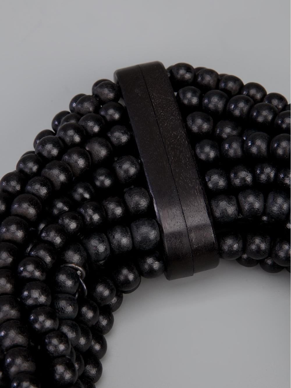 Monies Large Necklace in Black