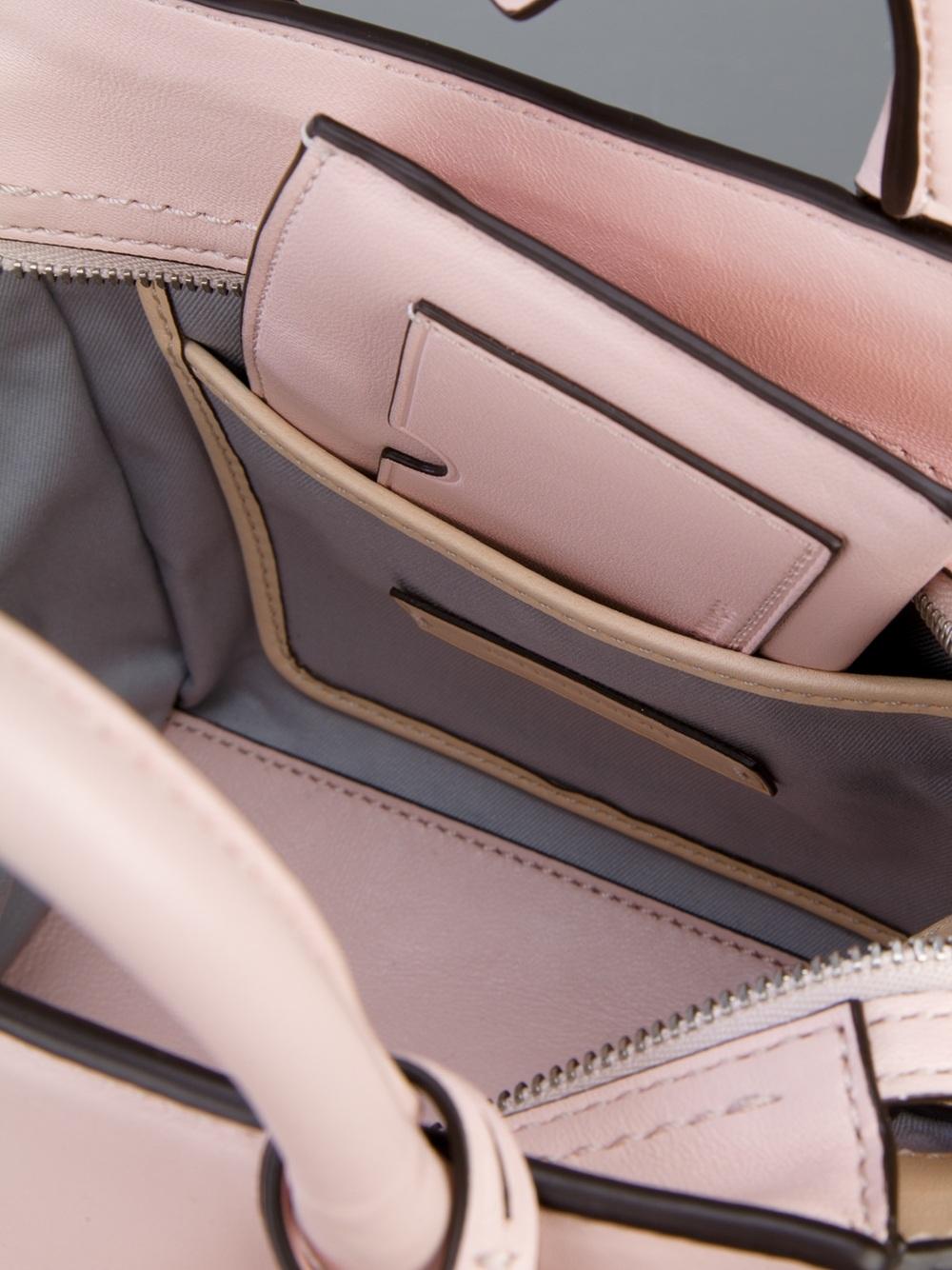 Reed Krakoff Mini Atlantique Tote in Pink
