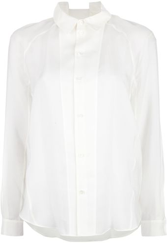 Theyskens' Theory Long-Sleeved Shirt - Lyst
