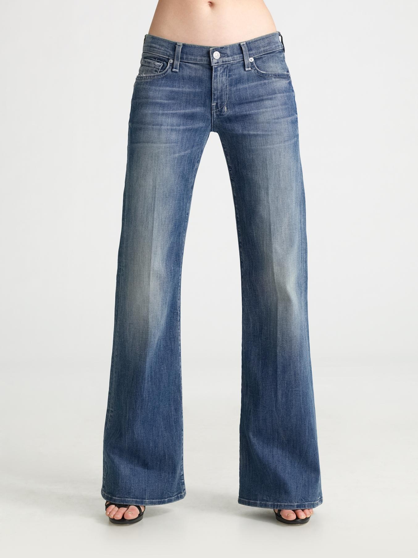 7 for all mankind Dojo Trouser Jeans in Blue | Lyst