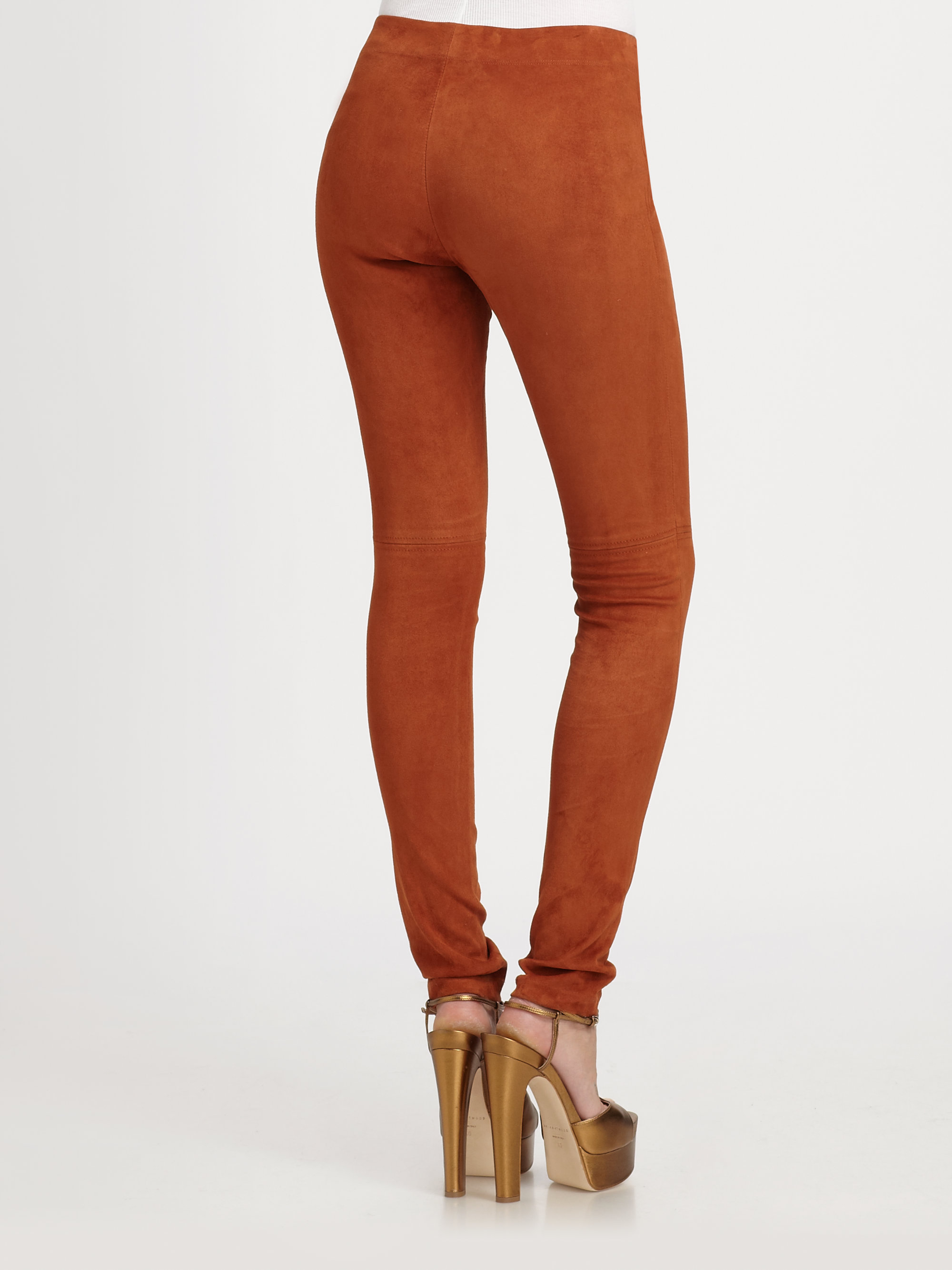 Burnt Orange Leggings