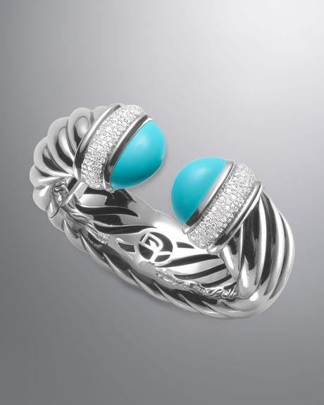 David Yurman Waverly Bracelet Turquoise in Silver