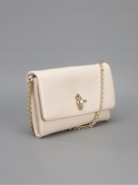 Small Cream Shoulder Bag 77
