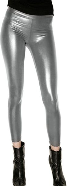 Sorry, silver latex leggings advise you