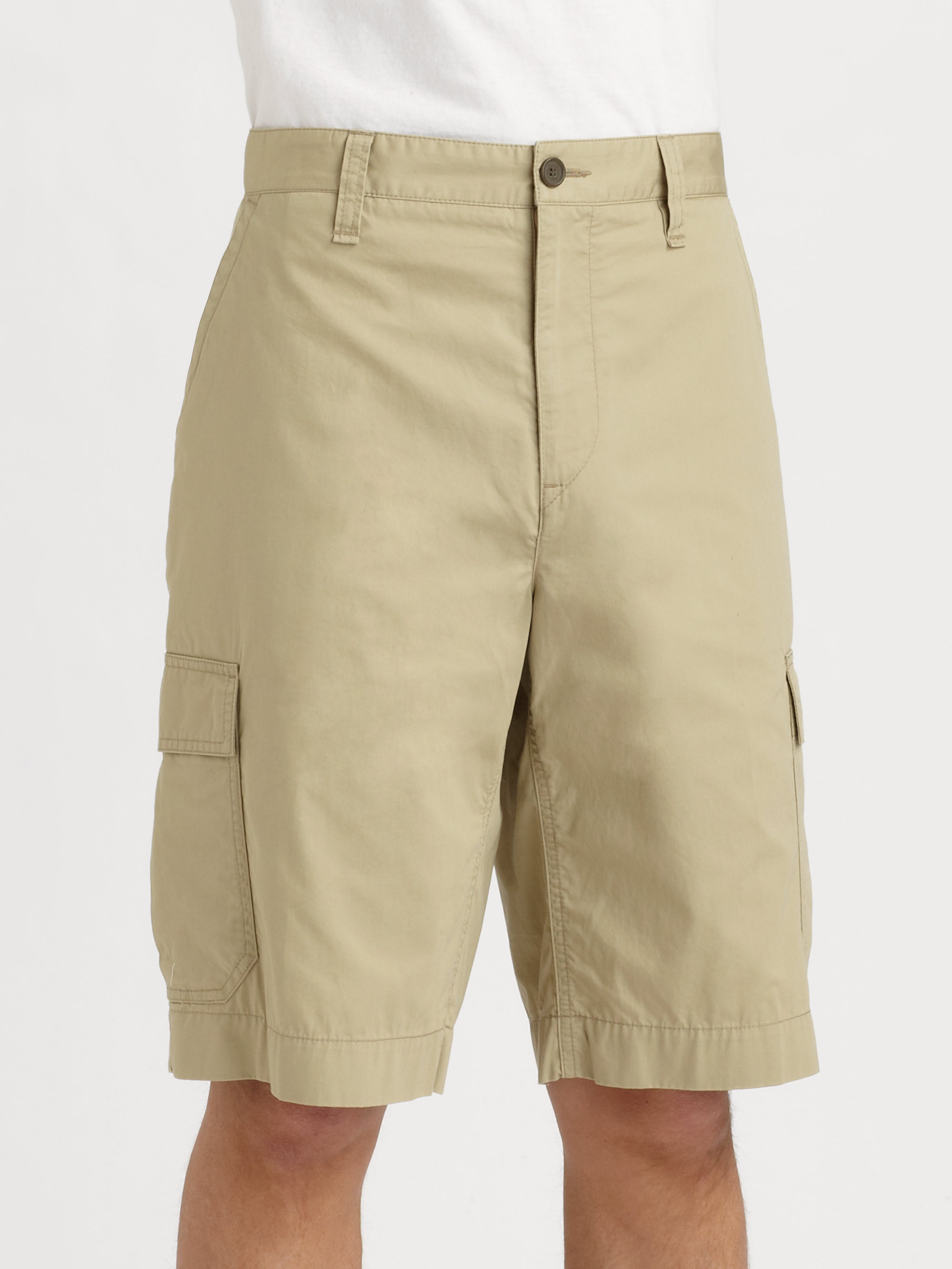 Natural For Cargo Men Lacoste Shorts nwPkO0