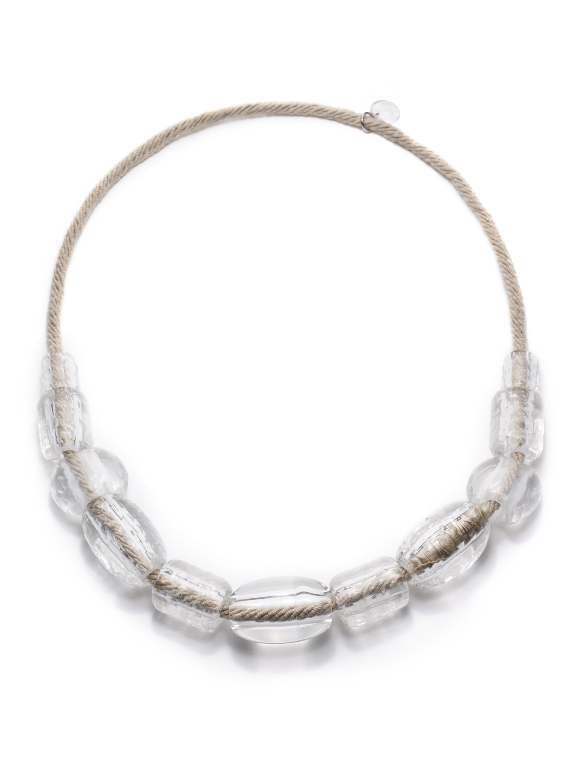 pono resin rope necklace lyst