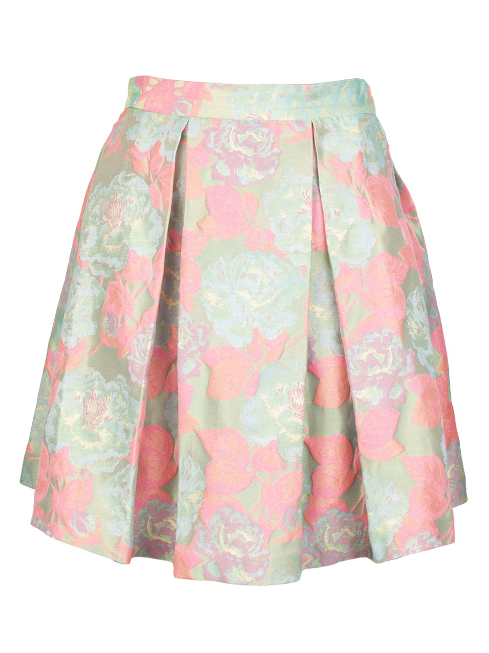 suno pleated mini skirt in pink lyst
