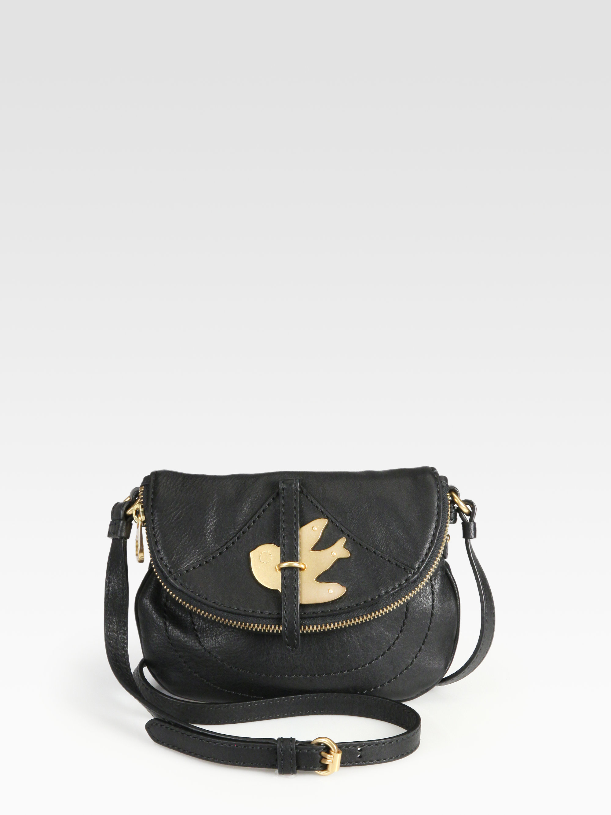 40caa8f4bc02 Lyst - Marc By Marc Jacobs Petal To The Metal Pouchette Crossbody ...
