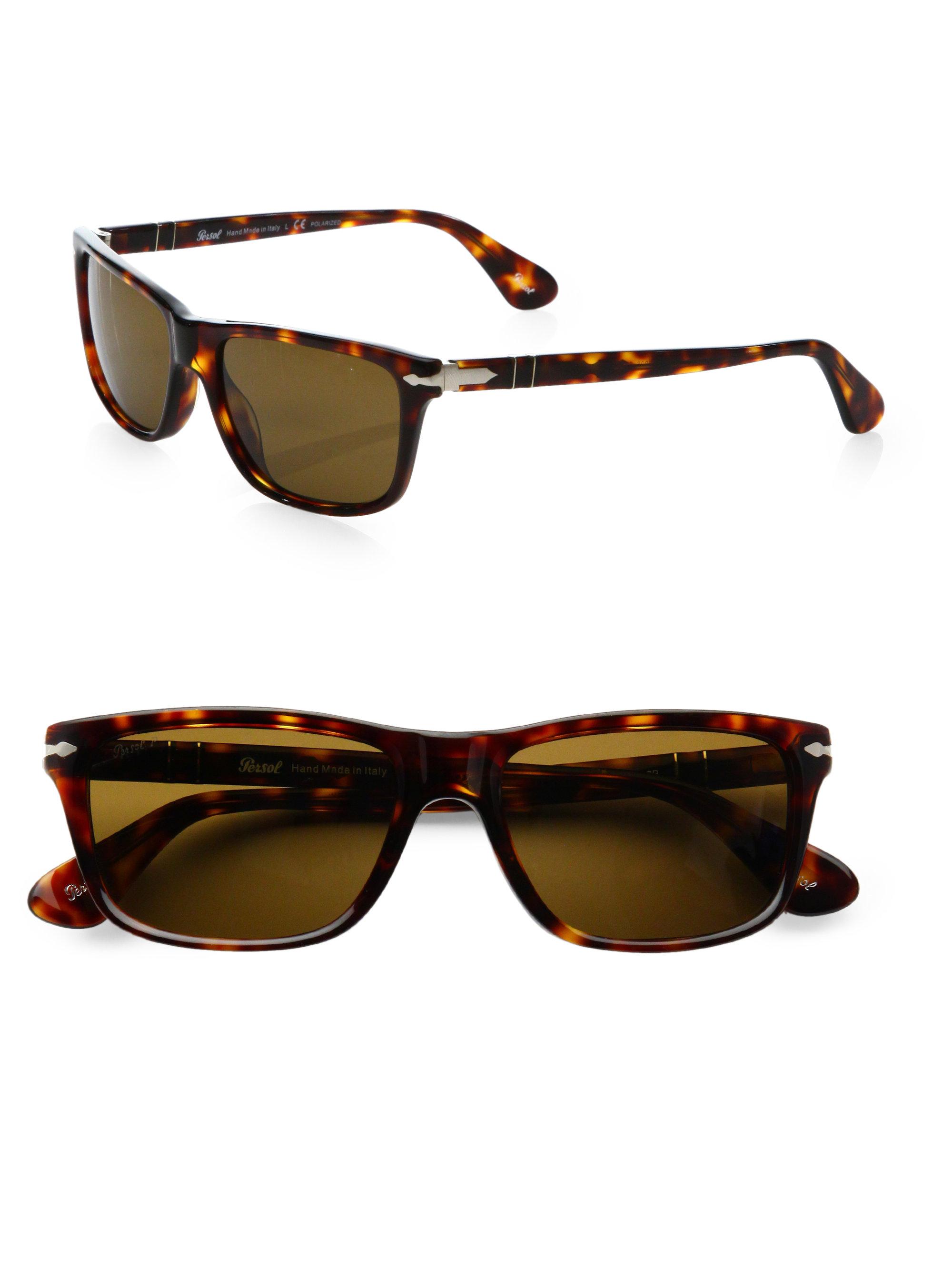 Acetate Brown For Persol In Rectangular Sunglasses Men Lyst qUMVpjLSGz