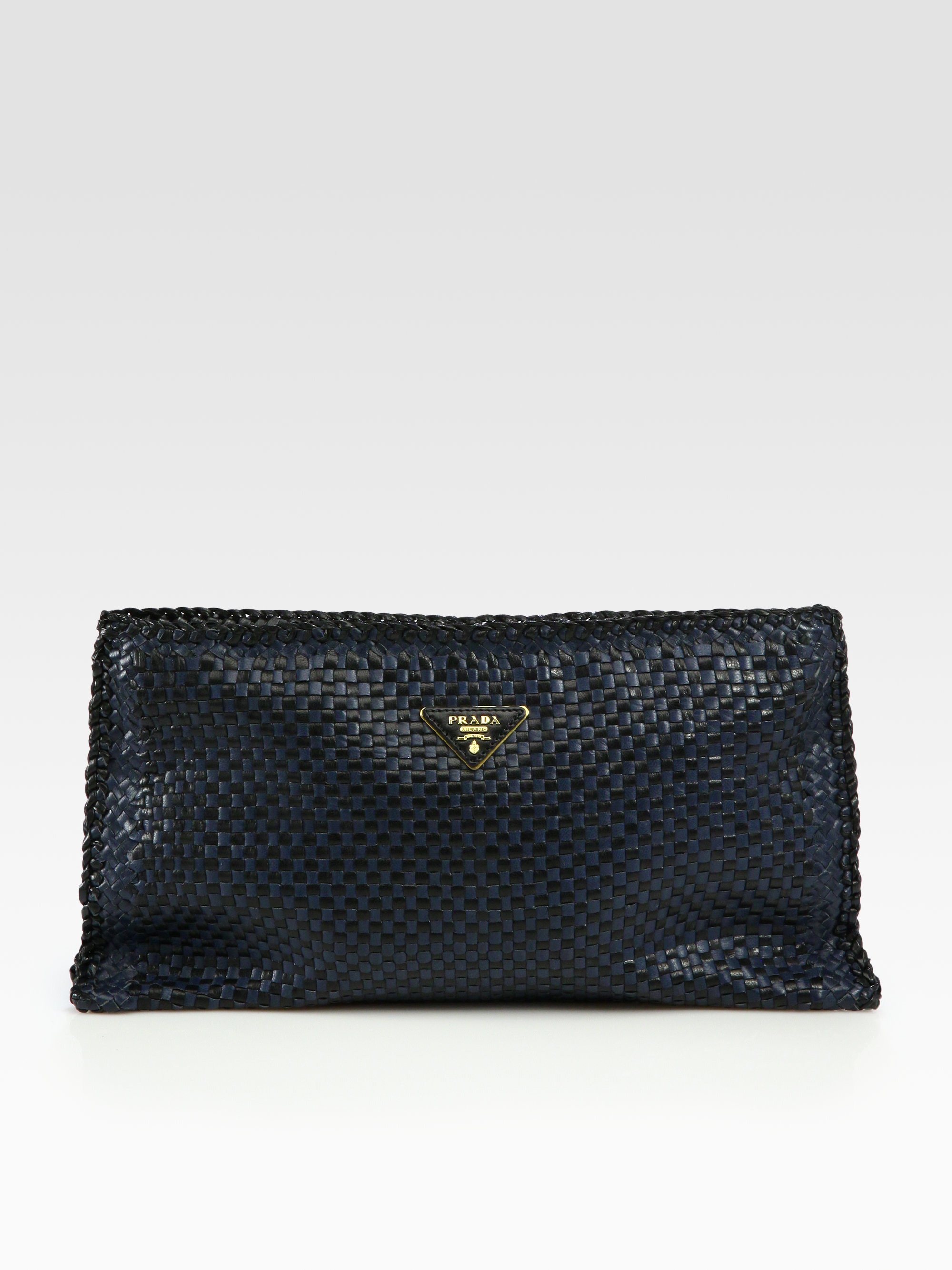 Pendleton Goat Leather Pouch in Black Goatskin Burberry zLZJU