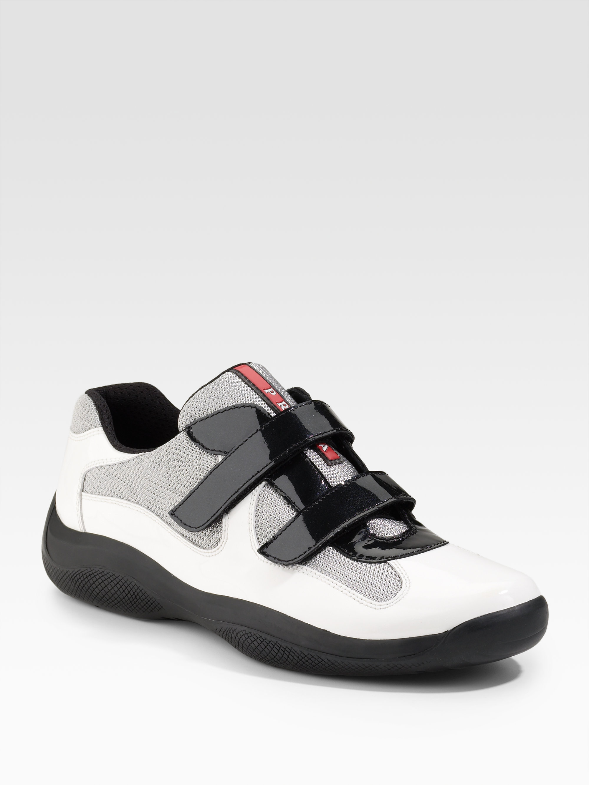 f97d2f31 Prada White Double-strap Sneakers for men