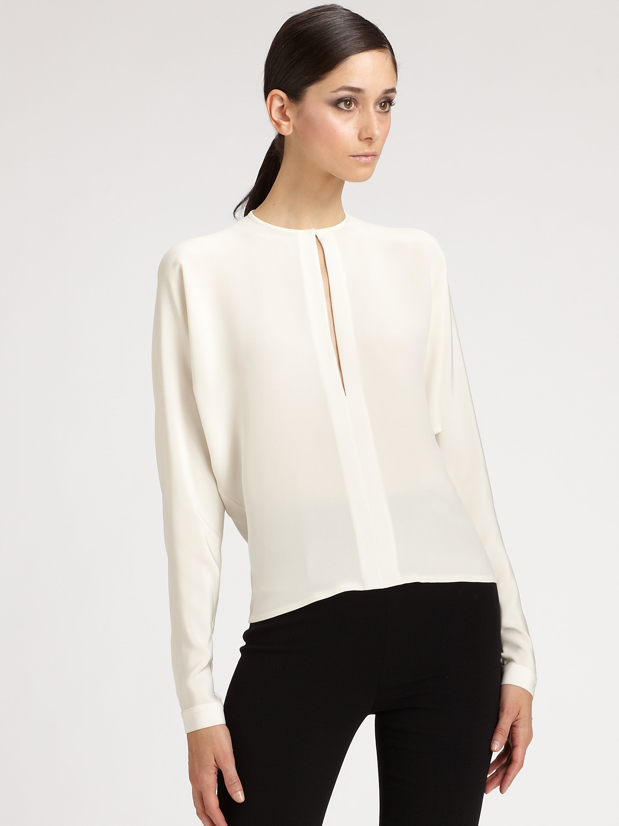 White Silk Blouse Photo Album - Reikian