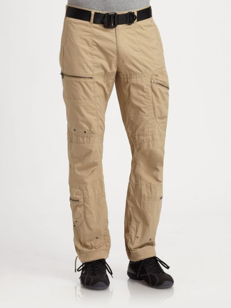 Awesome Polo Ralph Lauren Slimfit Twill Cargo Pant In Black  Lyst