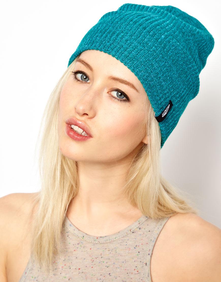 809676edbca28 Lyst - Vans Mismoedig Beanie Hat in Green