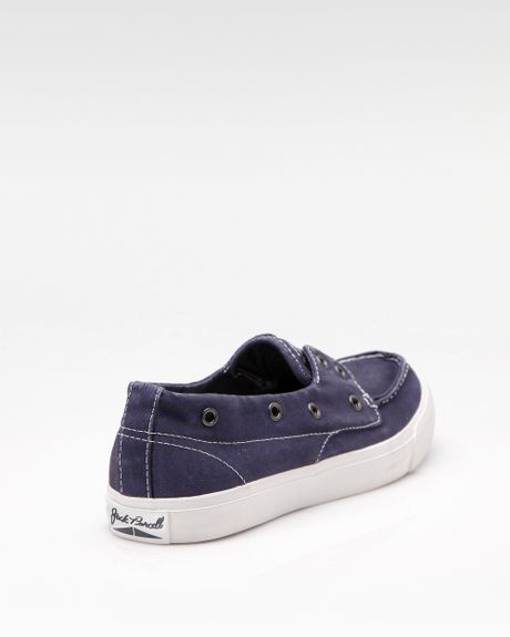 Converse Jack Purcell Boat Shoe Slip