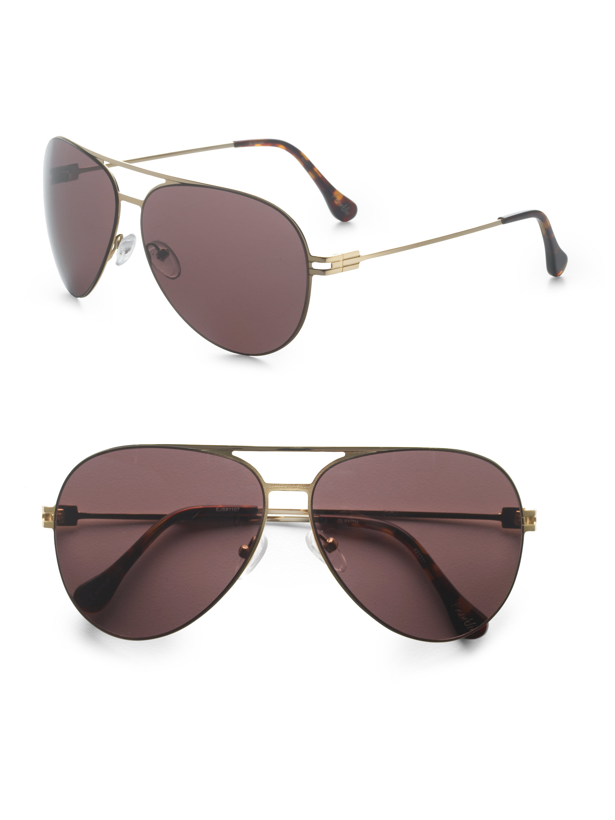 3a3d5813ea7 Lyst - Elizabeth And James Franklin Sunglasses in Brown
