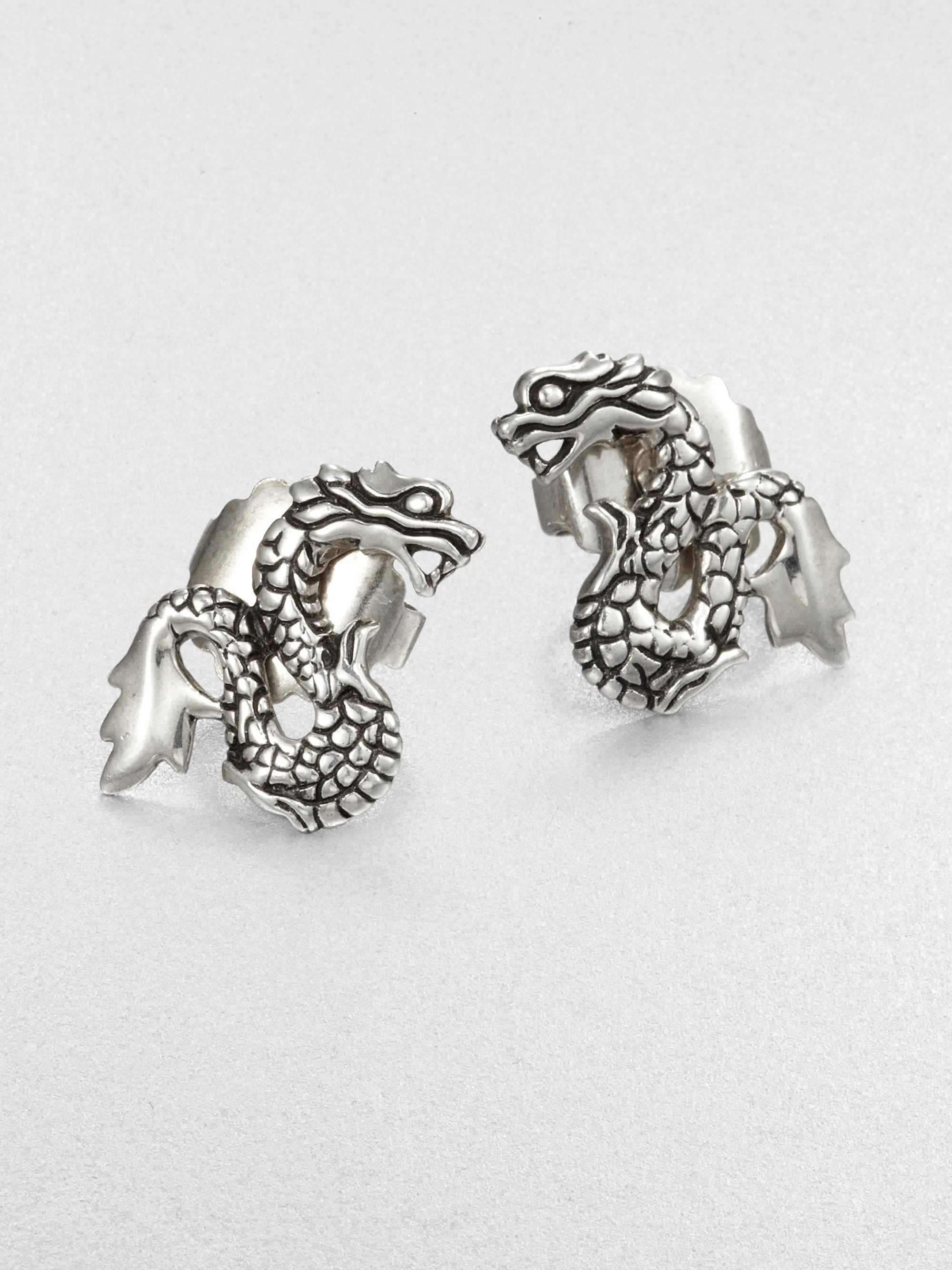 Dragon Stud Earrings