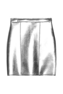 Sass And Bide The Star Turn Metallic Neoprene Mini Skirt - Lyst