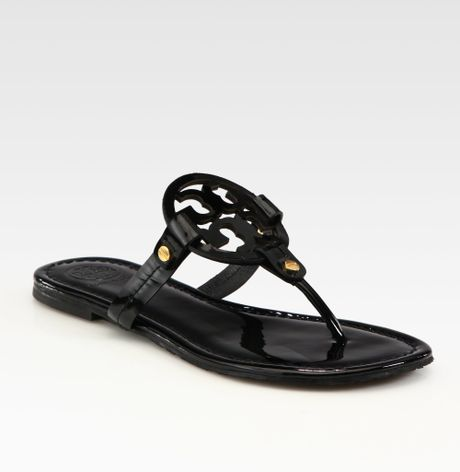 ae2193698f144d Black Sandals  Tory Burch Miller Sandals Black