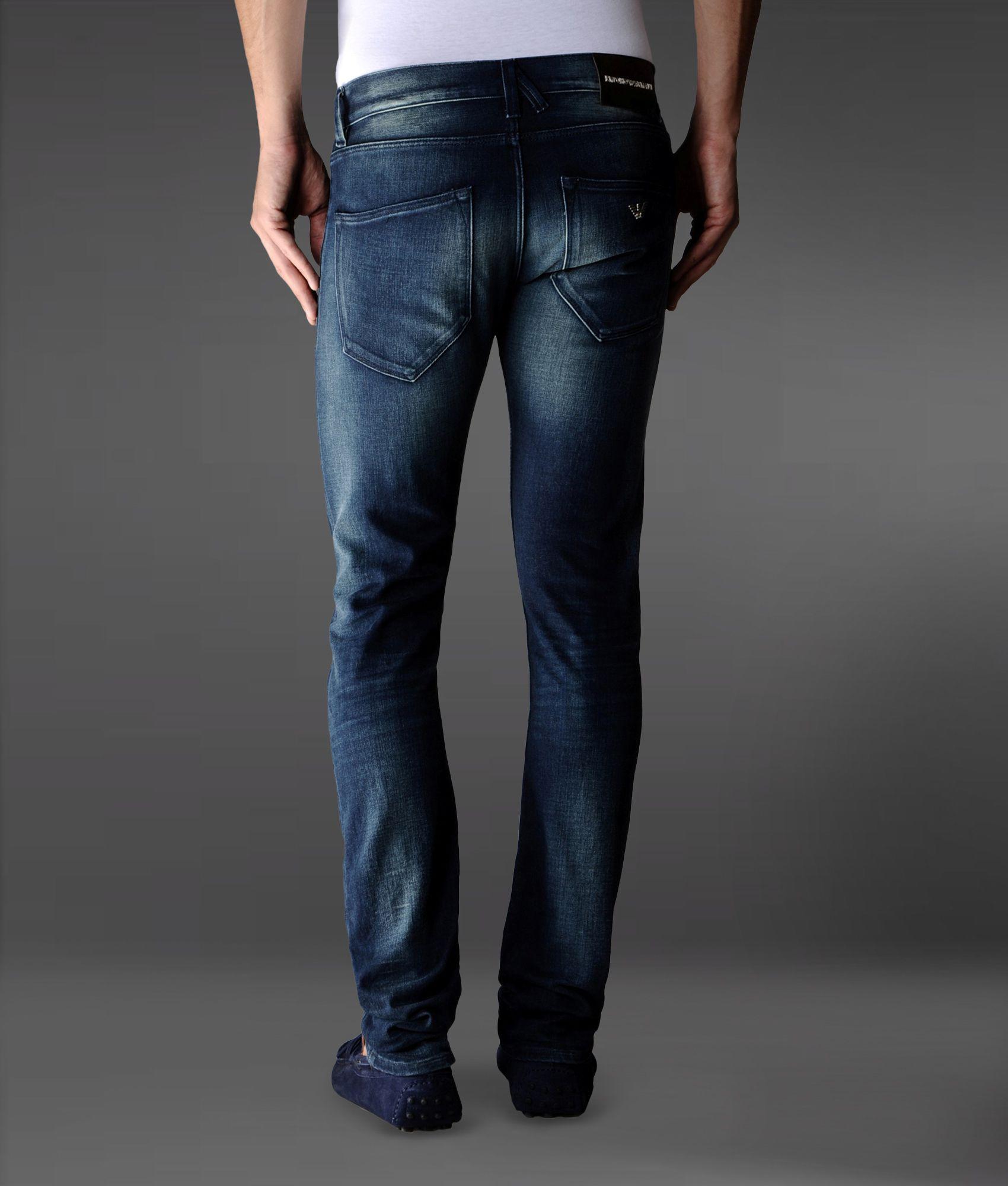 classic slim-fit jeans - Blue Emporio Armani bugkDE6Ct