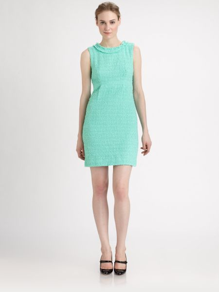 Kate Spade Terri Dress in Green (mintcream)