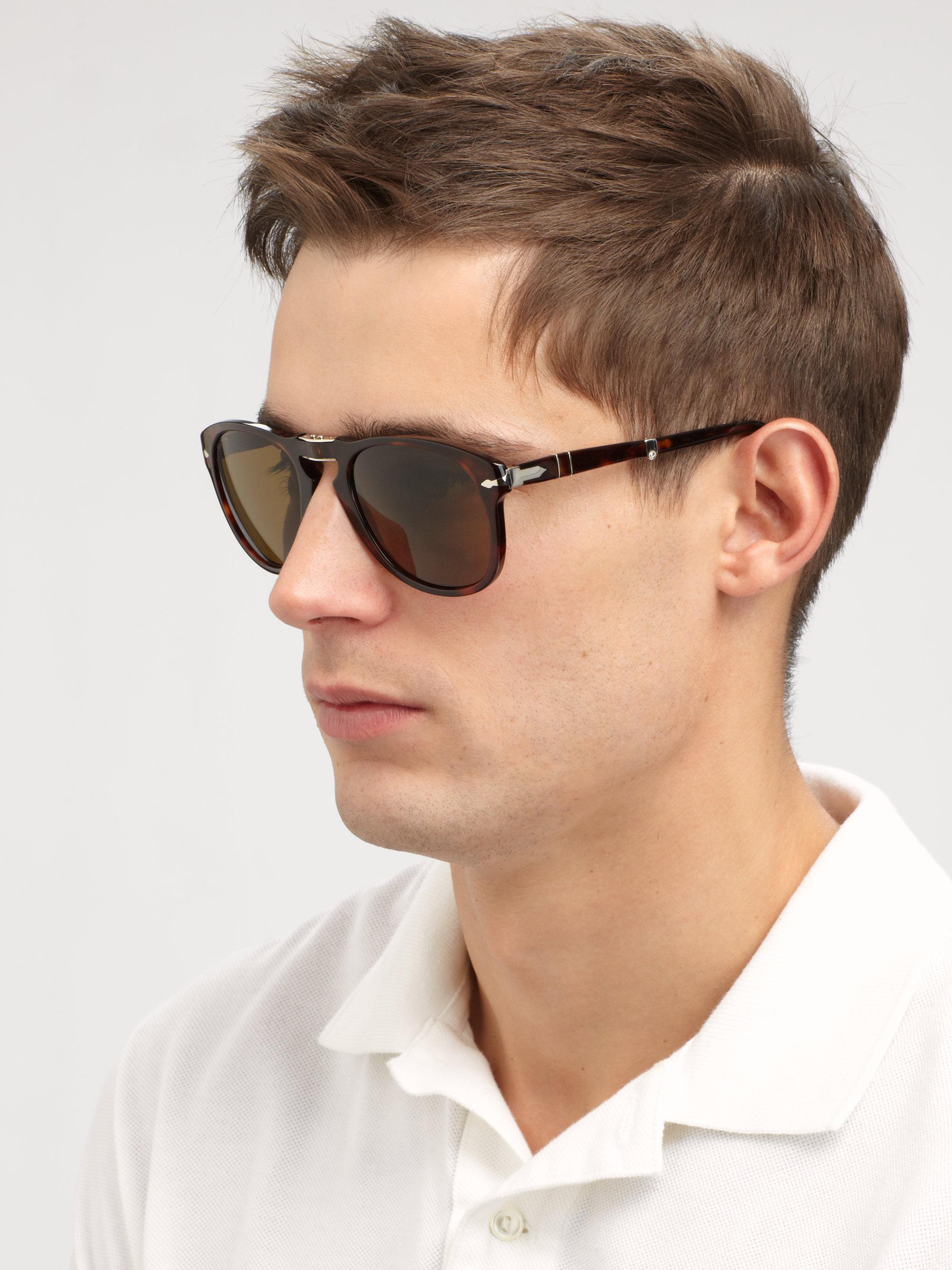f9aac679380 Lyst persol vintage folding keyhole sunglasses in brown for men jpg  2000x2667 Persol men