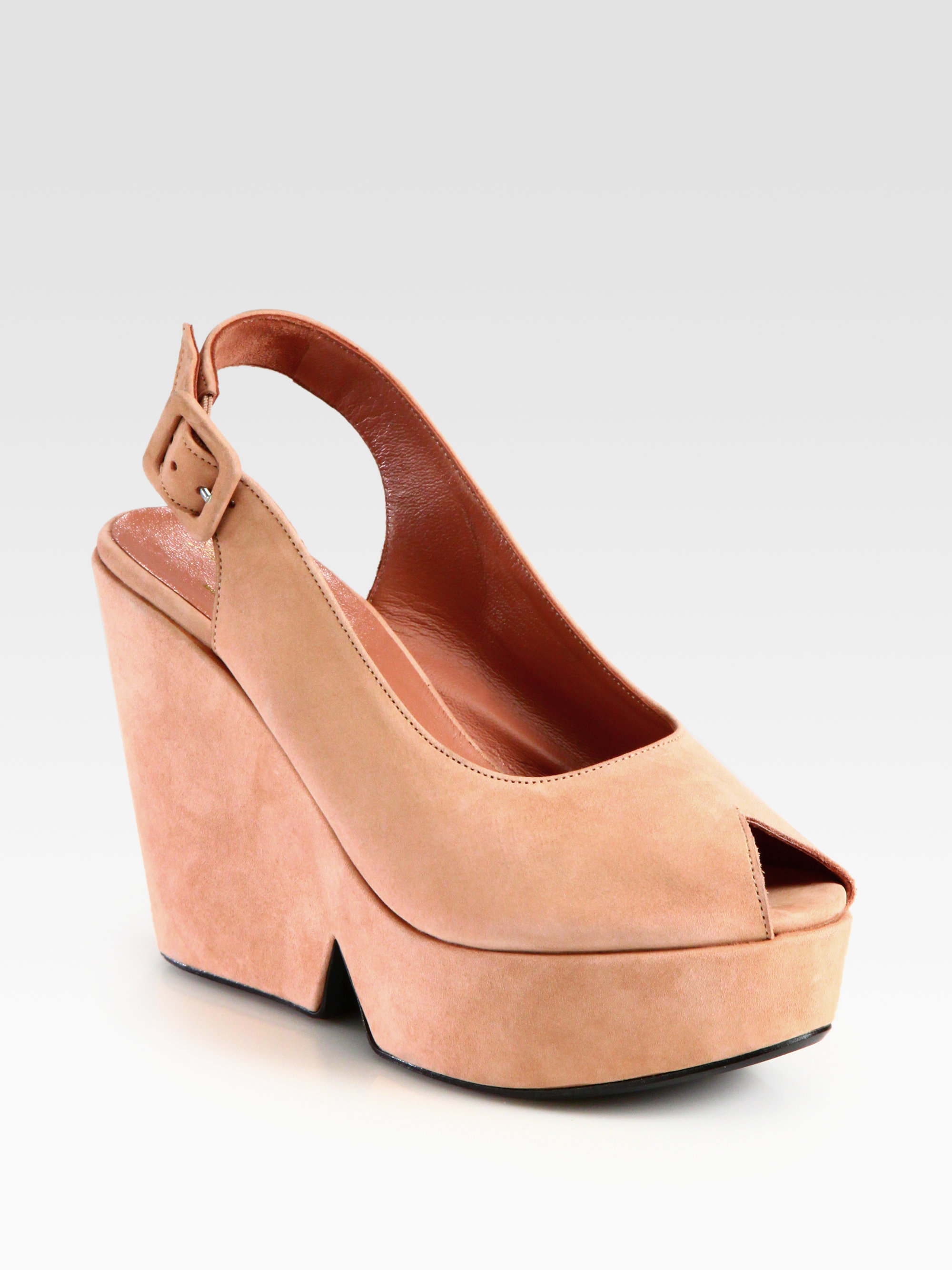Robert Clergerie Dylan Suede Wedges sale lowest price cheap real finishline HE0SbyZvL