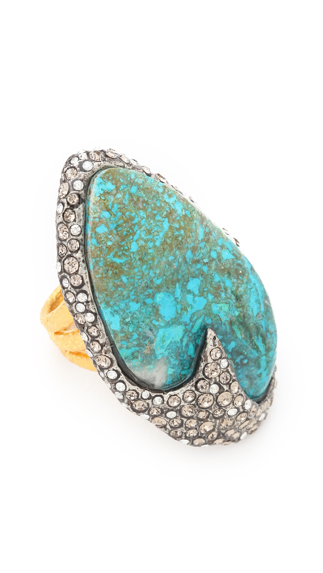 Lyst Alexis Bittar Cordova Chrysocolla Ring In Blue
