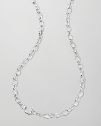 Ippolita Sterling Silver Smooth Chain Necklace - Lyst