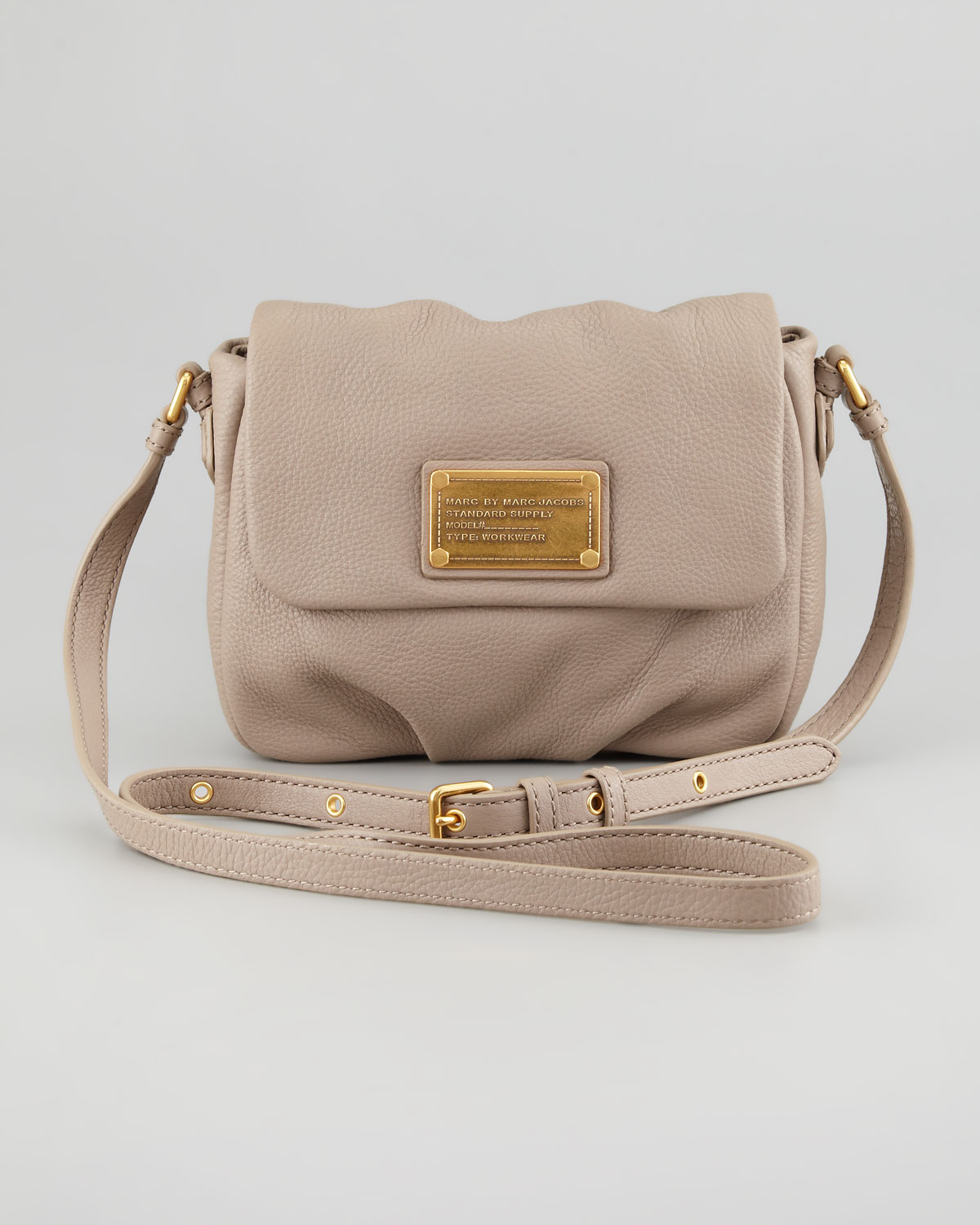 36eda90f7754 Lyst - Marc By Marc Jacobs Classic Q Isabelle Crossbody Bag in Gray