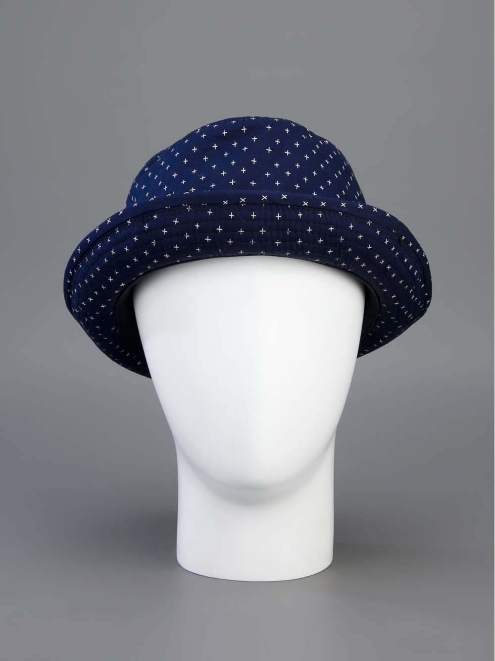 418f5ed8f7774 Lyst - Paul Smith Trilby Hat in Blue for Men