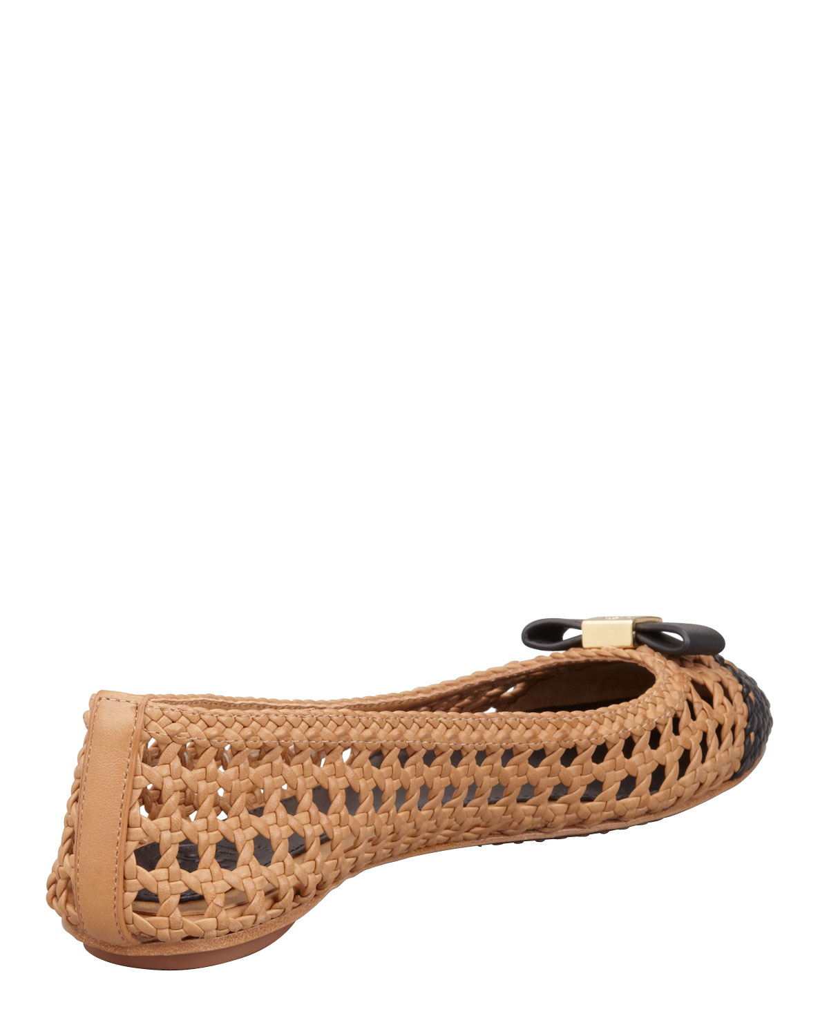 outlet low price fee shipping quality outlet store Tory Burch Woven Leather Flats tlgOk49C